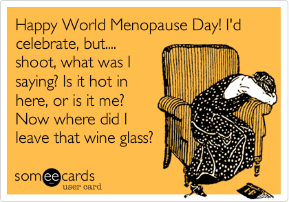 World Menopause Day 2017