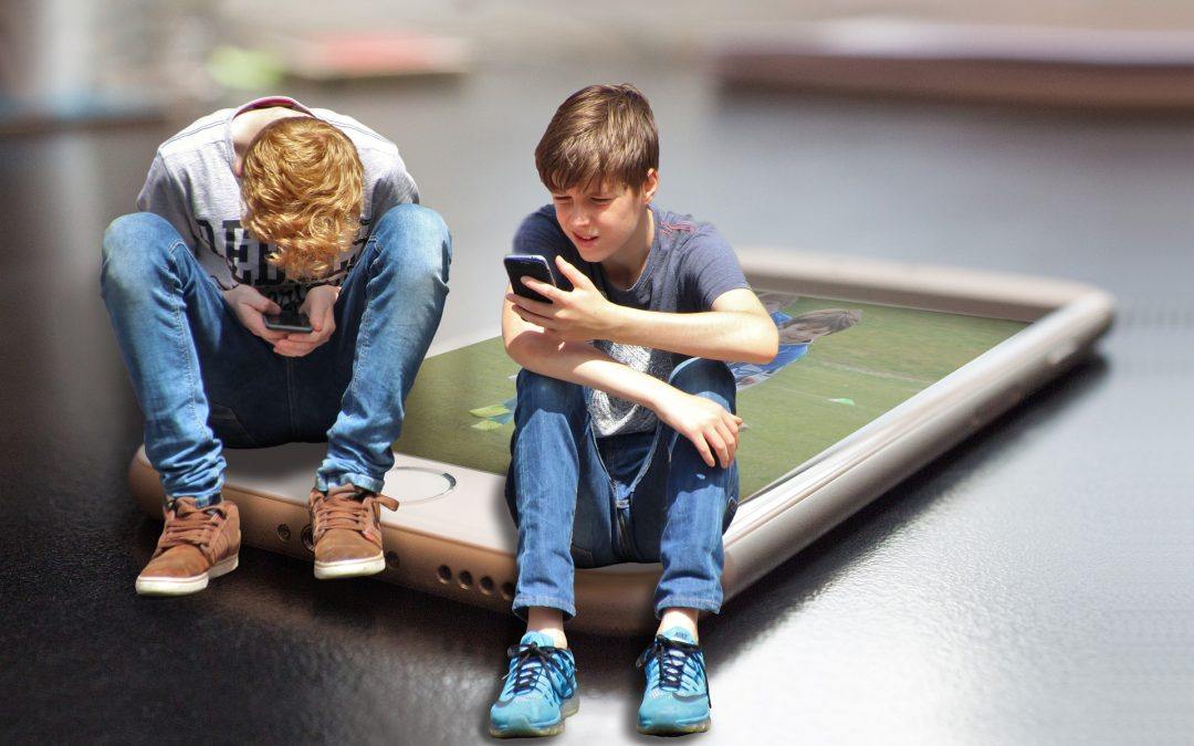 Worry less about children's screen use, parents told – BBC News