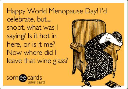 World Menopause Day 2017